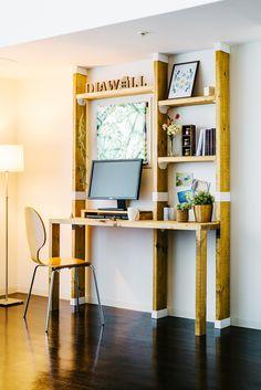 《使用商品》2×6ディアウォールS ホワイト(DWS26W) / 1×6・2×6棚受け ホワイト(DWT26W) / 2×6中間ジョイントS ホワイト(DWJ26W) Home Diy, Diy Furniture, Furniture, Furniture Inspiration, Diy Furniture Easy, Diy Storage, Home Music Rooms, Home Decor, Diy Interior