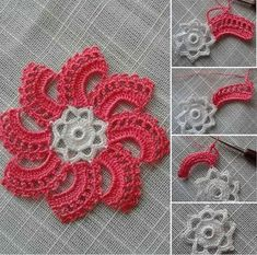 Not Your Grandma's Doily – Spectacular Suede Crochet Doily – Free Pattern Col Crochet, Crochet Daisy, Single Crochet Stitch, Crochet Chart, Vintage Crochet, Crochet Flowers, Crochet Stitches, Crochet Hooks, Free Crochet