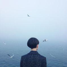 Une nouvelle sélection desphotographies poétiques et surréalistes du talentueuxOleg Oprisco, un jeune photographeukrainien qui utilise uniquement la ph