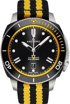 La Cote des Montres : La montre Anonimo Nautilo NATO - Anonimo dévoile des Nautilos toutes en couleur