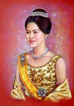 King Of Kings, My King, King Queen, Hm The Queen, Her Majesty The Queen, King Rama 10, Queen Sirikit, Royal Tiaras, Queen Mother