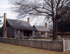 Aycock Birthplace, north of Goldsboro, NC.  This is a small historic site but well worth your time.