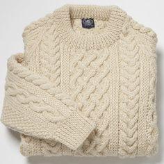 J press/aran sweater