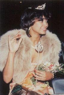 "Diana Santifer - Homecoming Queen in the 1988 ""Green & White"" yearbook of Inglewood High School in Inglewood, California. #Inglewood #GreenAndWhite #yearbook #California #1988 #HomecomingQueen"