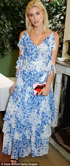 Flourish in florals like Ashley in a Studio by Preen dress #DailyMail