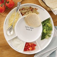 Taco Serving Platter - Gifts for Kitchen