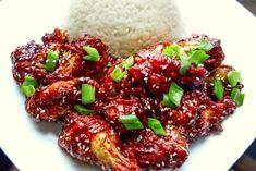 Skrzydełka z Kurczaka w Sosie Hoisin Bulgogi, Wok, Grains, Rice, Beef, Meat, Woks, Ox, Seeds