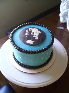 birthday cake marilyn monroe   marilyn monroe i made this for a friend who loves marilyn monroe