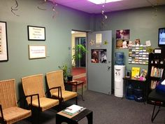 Halo Chiropractic's reception area. | Yelp Reception Areas, Chiropractic, Corner Desk, Halo, Furniture, Beautiful, Home Decor, Corner Table, Decoration Home