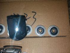 23mm Metal Shower Wheels