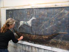 Deborah Bell in her studio.