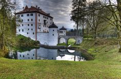 Sneznik Castle Near Kozarisce, Notranjska, Slovenia.     Slovenia is one of the most beautiful countries I've ever visited.