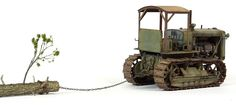 Russian S-65 Tractor