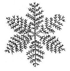 Vintage Clip Art - 3 Cute Snowflakes - The Graphics Fairy
