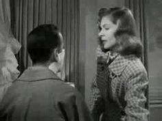 Lauren Bacall and Humphrey Bogart in Dark Passage. (1947)