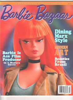 Up for auction is an April 2003 back issue of Barbie Bazaar, no longer in print. The cover does have some crinkles on it, both on the front and back cover, but the pages are still in good condition with lots of great articles and color photos. Pay Pal is the accepted form of payment. I send all purchases within 1-2 business days after receiving cleared payment. Please feel free to email me with any questions regarding this auction.   eBay!