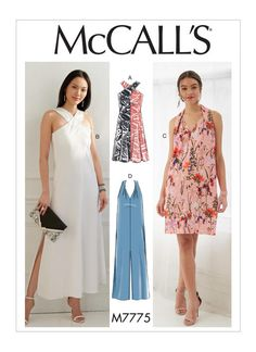 M7775 | Misses' Dresses Sewing Pattern | McCall's Patterns