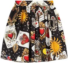 Dolce & Gabbana Mini Me printed skirt