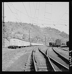 Part of coal mining town of Welch, West Virginia....