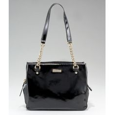 Kate Spade Zip Darcy Shoulder Bag Authentic Zip Darcy Shoulder Bag in black patent leather by Kate Spade NY. Excellent condition - outer is close the new; lining has very minor indications of wear. Was my go-to bag - it's a perfect size and weight, fits comfortably on the shoulder, and has great compartments in an accordion-like design. 8 long x 10 wide x approx 4 deep max. Purchased winter 2011. Kate Spade dustbag included. TRADE kate spade Bags Shoulder Bags