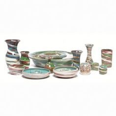 Desert Sands pottery, lot