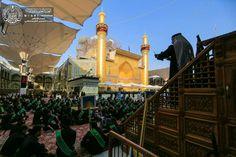 Atmosphere öf the shrine of MAULA A.S ON THE MARTYRDOM OF IMAM Sajjad ( A.S ) #Safar #ayameazaa #Twelver #AhleBayt #ImamAli #ProphetMuhammad
