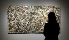 "Installation ""Alchemy by Jackson Pollock. Discovering the Artist at Work"" Ph. Matteo De Fina"