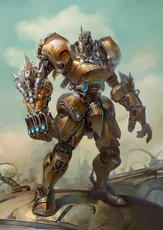 Mecha Steampunk