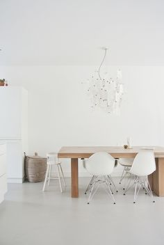 Interiors Dining Room On Pinterest Eames Eames Chairs And Dining Rooms