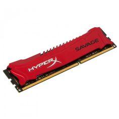 Kingston HyperX Savage Series Memory 8GB DDR3-1600MHz: 8GB, 240-Pin, PC3-12800, Heat Spreader, CL9, DIMM, XMP Profile