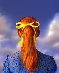 Resultado de imagem para cabelos ruivos alaranjados