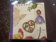 Álbum de niña tema: princesa sofia para guardar fotos y recuerdos.
