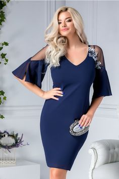 Swans Style is the top online fashion store for women. Shop sexy club dresses, jeans, shoes, bodysuits, skirts and more. Elegant Dresses, Beautiful Dresses, Nice Dresses, Best Prom Dresses, Short Dresses, Formal Dresses, Look Fashion, Fashion Outfits, Sporty Outfits