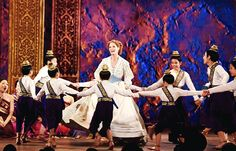 Kelli O'Hara and the cast of the King and I perform onstage at the 2015 Tony Awards at Radio City Music Hall on June 7, 2015 in New York City.