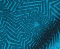 Peacock Blue Velvet Upholstery Fabric  Imprinted Velvet