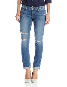 PAIGE Women's Jimmy Jimmy Skinny, Brady Destructed, 29- #fashion #Apparel find more at lowpricebooks.co - #fashion