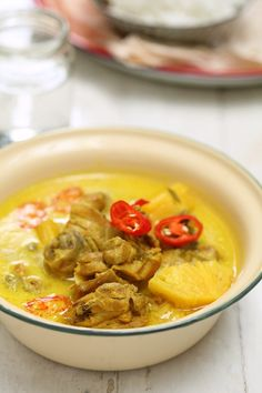 187 best malay images on pinterest indonesian cuisine indonesian masam manis ayam masak lemak cili api dengan nenas malay foodfree forumfinder Image collections