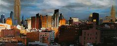 """""""NEW YORK 14"""" By Socrates Rizquez 2015 - Enamels on melamine painting. Pintado con esmaltes sobre melamina. www.socrates-art.es"""