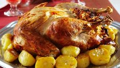 Roasted Turkey with Capsicum, almond and rice stuffing-Delicious Turkey Recipes for Thanksgiving Rice Stuffing, Stuffing Recipes, Turkey Recipes, Chicken With Olives, Thanksgiving Recipes, Thanksgiving Turkey, Happy Thanksgiving, Christmas Recipes, Holiday Recipes