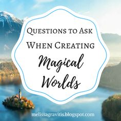 Quill Pen Writer: Questions to Ask When Creating Magical Worlds Creative Writing Tips, Book Writing Tips, Writing Resources, Writing Help, Writing Prompts, Writers Notebook, Writers Write, Writing Fantasy, Fantasy Fiction