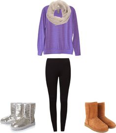 """""""Cute comfy outfit"""" by moorejes-1 on Polyvore"""