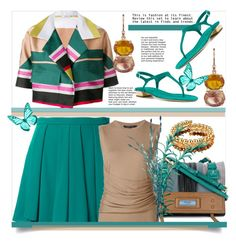"""""""Fashion at it's Finest"""" by helenaymangual ❤ liked on Polyvore featuring Guild Prime, Anna F., Odeeh, Prada, Derek Lam, Irene Neuwirth and 1928"""