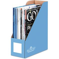 """magazine files from Walmart for student """"book boxes"""""""