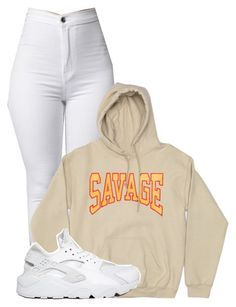Untitled #185 by outfits2dope ❤ liked on Polyvore featuring NIKE