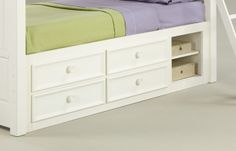 Underbed Storage Closeup - Summer Breeze by Legacy Classic Kids