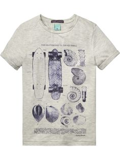 Artwork T-Shirt |T-shirt s/s|Boys Clothing at Scotch & Soda