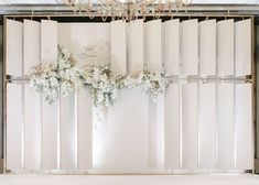 White color with a gold tint . Wedding Stage Backdrop, Wedding Backdrop Design, Wedding Mandap, Wedding Venue Decorations, Wedding Lanterns, Backdrop Decorations, Wedding Backdrops, Chinese Wedding Decor, Romantic Wedding Decor
