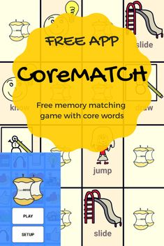 74 Best Core Vocabulary Images On Pinterest Languages Speech And