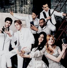 shadowhunters, jace, and izzy image, Beautiful Celeb Katherine McNamara Shadowhunters Series, Shadowhunters The Mortal Instruments, Matthew Daddario, Shadow Hunters Cast, Clary Et Jace, Dominic Sherwood, Cassandra Clare, Series Movies, Celebs
