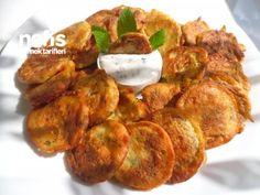 Pofuduk Kabak Kızartması Turkish Recipes, Ethnic Recipes, New Recipes, Favorite Recipes, Salty Foods, Sweet And Salty, Tandoori Chicken, Bon Appetit, Healthy Snack Foods